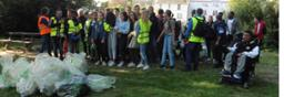 Les élèves du lycée se mobilisent pour la propreté de la planète